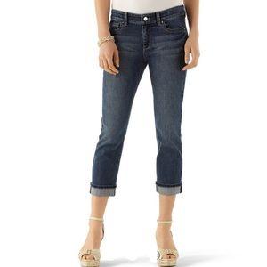 WHBM | Women's Blanc Essential Crop Leg Jean 8